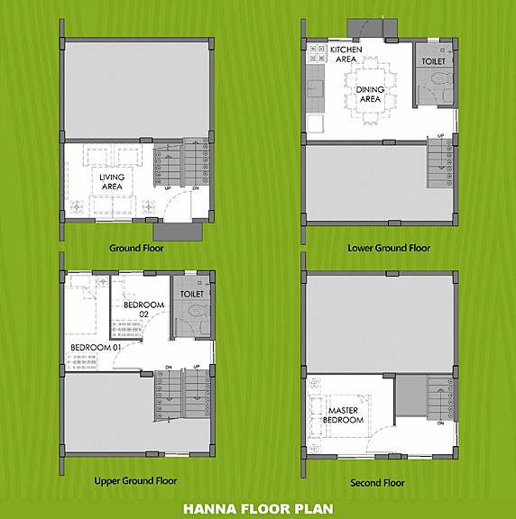 Hanna Floor Plan House and Lot in Los Banos