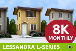 Lessandra Affordable Houses in Camella Los Banos