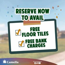 Promo for Camella Los Banos.